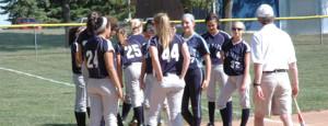 Softball girls learn the game