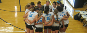 Volleyball begins fight for districts
