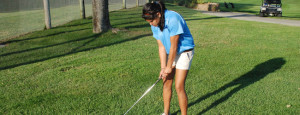 Golfer first to qualify