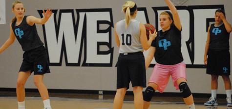 Basketball practice begins