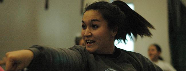 Winter clinics wring out new cheer season