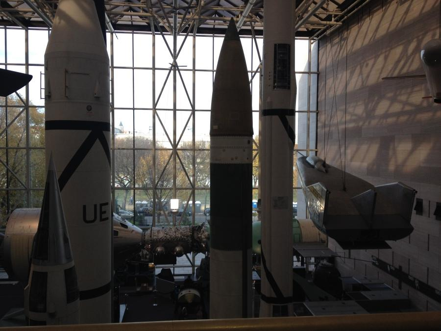Spacecraft+stand+tall+in+the+Smithsonian+Air+and+Space+Museum+on+Sunday%2C+Nov.+9.