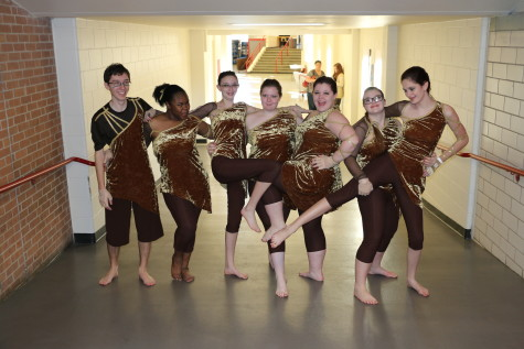 Winter Guard Takes First