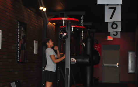 Stress Relief through boxing