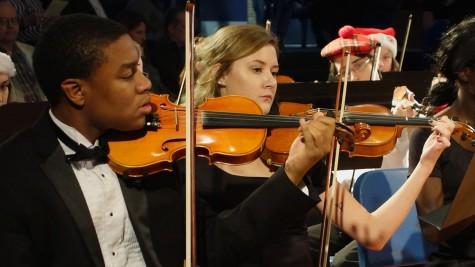 Orchestra moves venues to big success