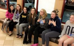 Prom candidates wake up early
