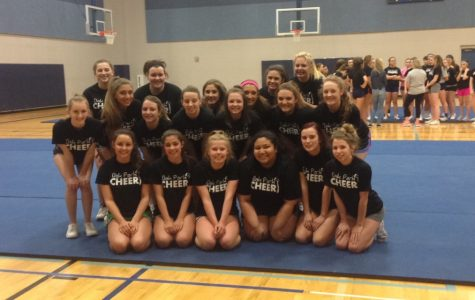 Cheer welcomes new squad