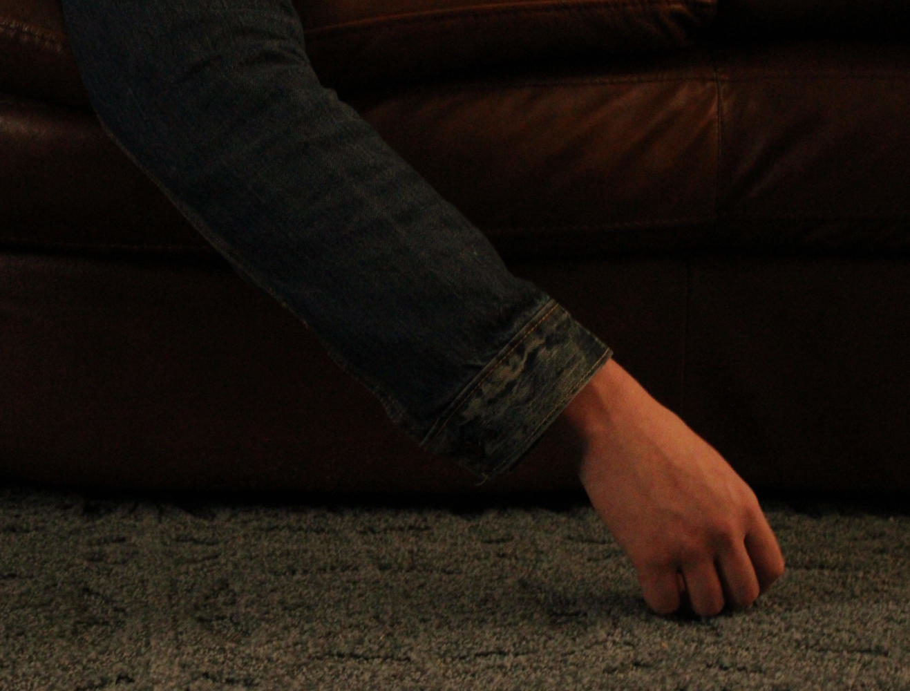 These images are photo illustrations depicting life in an abusive household.