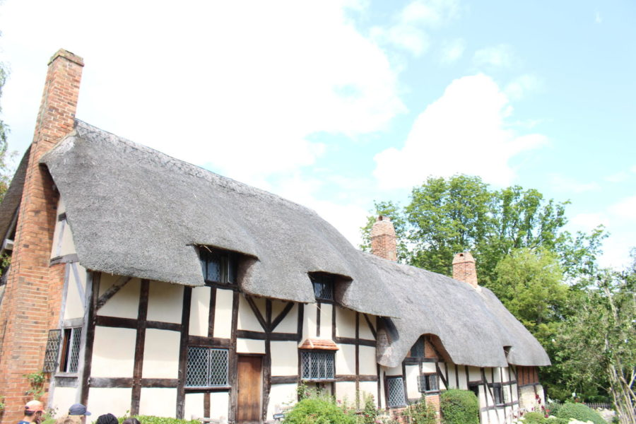 cottage of Anne Hathaway, wife to author William Shakespeare