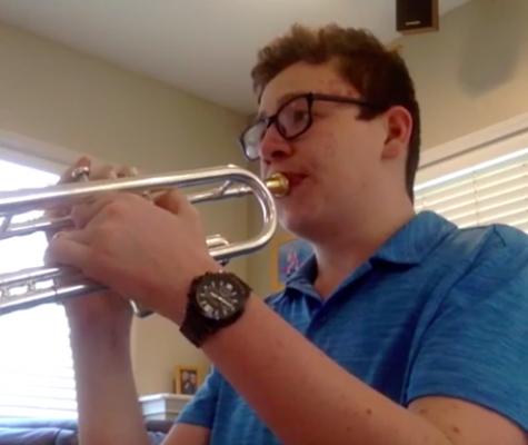 Joey Long on Trumpet